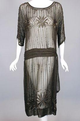 DR768-dark_brown_silk_chiffon_beaded_1920s_dress_-