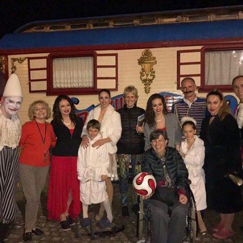 Mercedes Mila en el Circo Raluy