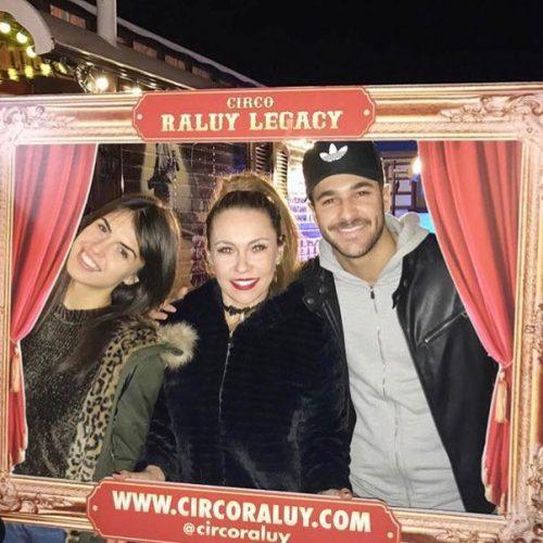 Sofía ganadora de GH16 en el Circo Raluy