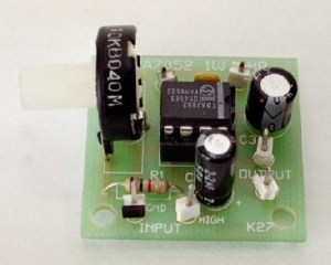 1W Audio Amplifier Circuit with TDA7052