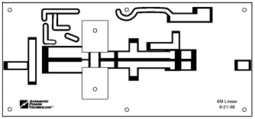 50mhz 300w mosfet linear amplifier pcb layout