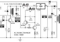 electronic motor starter circuit