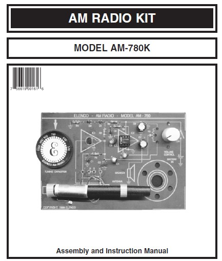 Two Chips AM Radio Kit