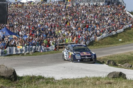 Total domination in front of a massive home crowd for Volkswagen