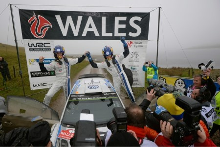 VW notch up record 12 wins in one season with Sébastien Ogier/Julien Ingrassia