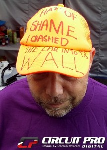 The 'Hat of shame'