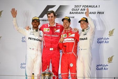 Vettel wins Bahrain Grand Prix