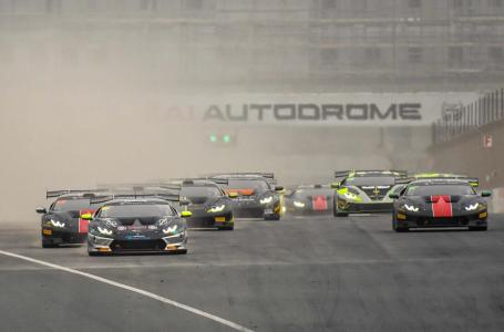 The Huracán Super Trofeos will race on the Grand Prix layout of the Dubai Autodrome