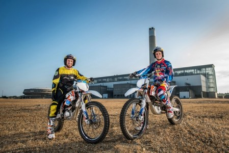 Danny and Extreme Enduro rider Jonny Walker put the new KTM Freeride E to the test...