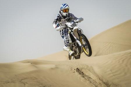 South African rider Mark Ackerman