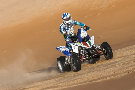 Young Kuwaiti Fahad Al-Musallam claimed a stunning victory in the quad category