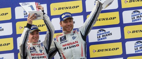 Charlie Robertson and Chris Hoy in the no3 Nissan powered Team LNT Ginetta