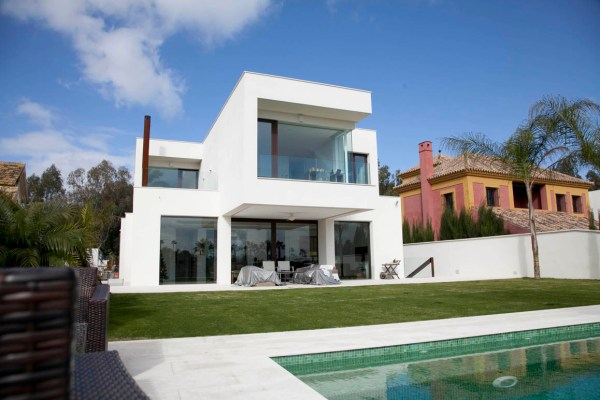House at the Real Club de Golf of Sevilla