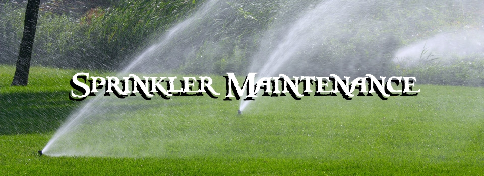 sprinkler maintenance