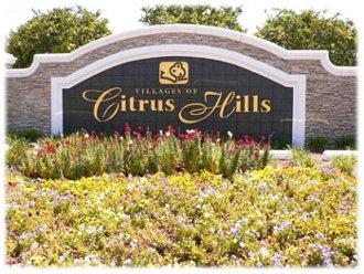 citrus hills Florida sign