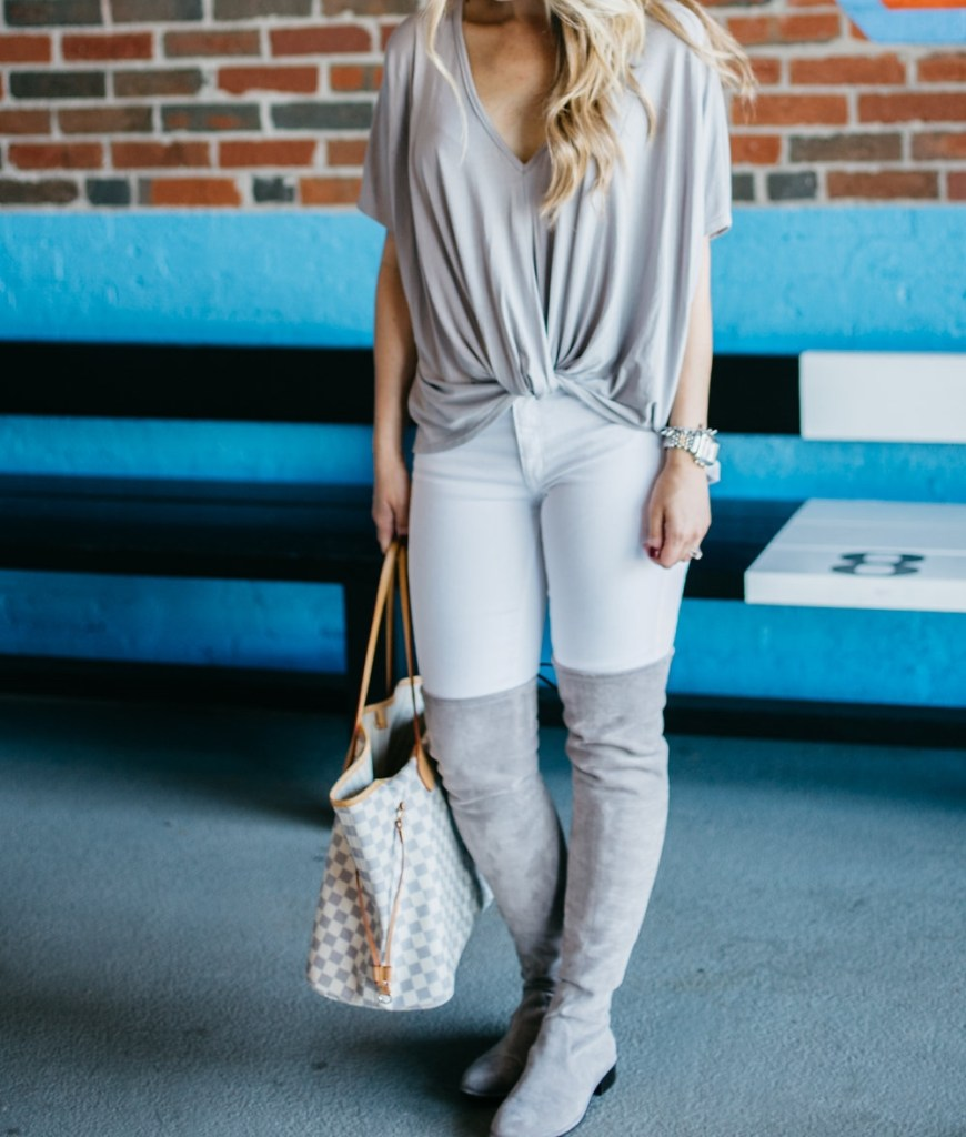 front-twist-t-shirt-grey-over-the-knee-boots