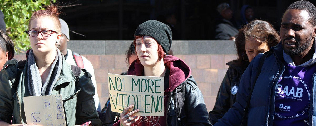 Anti-violence rally responds to campus assault