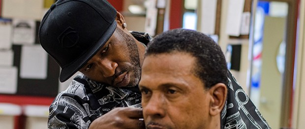 The Barbering program offers services to the public throughout the week. (Photos: Sydney Foster/City College News)