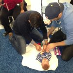 New Dad Boot Camp diapering