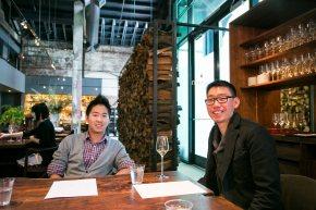 Ryan and Yoshi