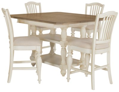 rr coventry two tone high dining table two tone kitchen table Coventry Two Tone High Dining Table VIEW LARGER