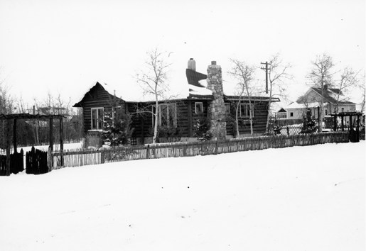 Field Home exterior, circa 1941. Image courtesy of the City of Edmonton Archives EA-160-896.