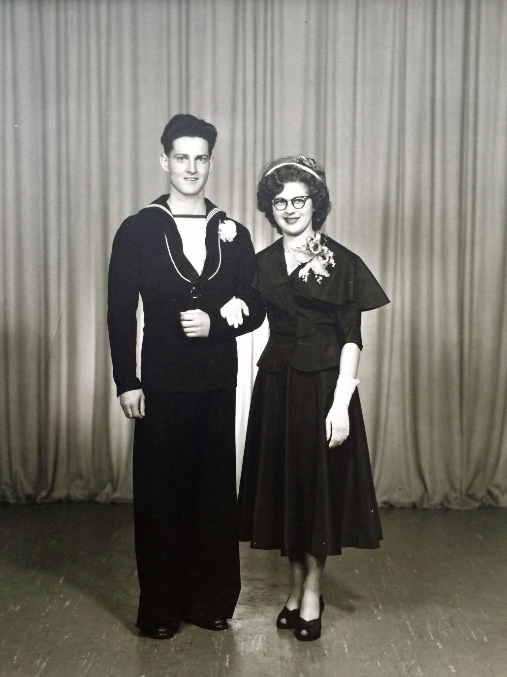 Elsie and Al wedding portrait, 1952. Image courtesy of Elsie Henderson.