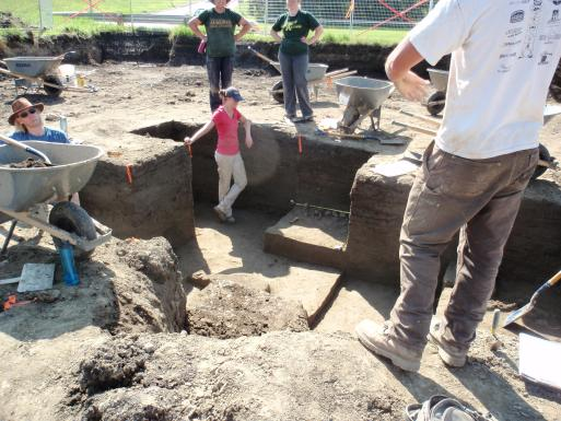 Excavations at the Prehistoric Period Camp