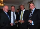 Rob Porteous, Prof Michael Nilsson, Dan-Ake Enstedt and Gerard Ogden