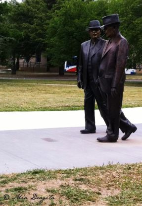 Statue of Two Men