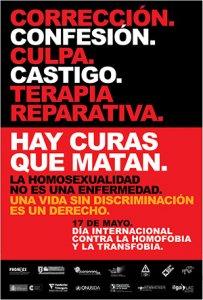 01. Mundo: Campaña IDAHO, Día Internacional Contra la Homofobia