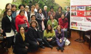 """10. Perú: Taller sobre """"La transversalidad de género en las políticas sindicales"""""""