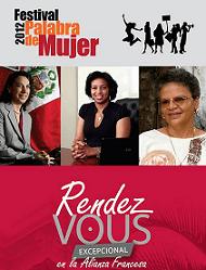 """04. La Alianza Francesa presentó la conferencia """"Mujeres, motor para el desarrollo"""" como parte del Festival Palabra de Mujer"""