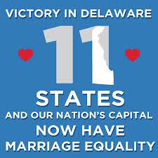 23. EE.UU.: Delaware aprueba matrimonio entre personas del mismo sexo