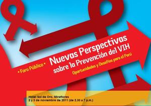 00. Perú: Foro Público y Consulta Técnica. Nuevas Perspectivas en la Prevención del VIH – Oportunidades y Desafíos para el Perú