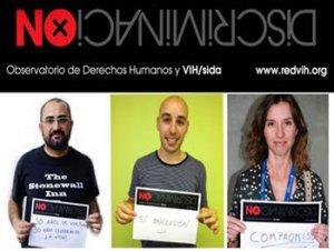 18. España: Campaña No discriminación por VIH y sida