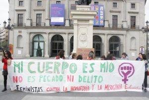 """10. España: """"Ni Dios, ni partido, ni amo, ni marido"""" Protesta en Madrid en contra del patriarcado"""