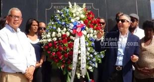 Manuel Jiménez rinde tributo a Los Trinitarios