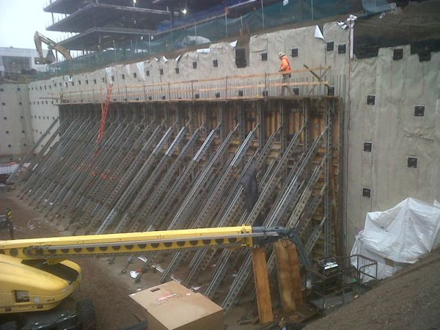 Needle Beam Shoring For Wall : Difference between scaffolding shoring underpinning
