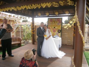 Wedding Ceremony in Perth, Western Australia
