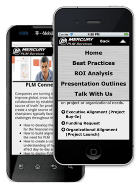Mercury PLM Mobile App