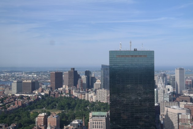 Boston Prudential Tower Top of the Hub