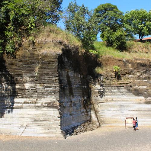 Parque Geológico do Varvito em Itu