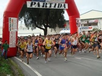 Na Mendiga,José  Gomes, António e João Joaquim nos 10 primeiros