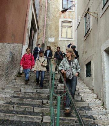 Lisboa revista pelos nossos Caminheiros