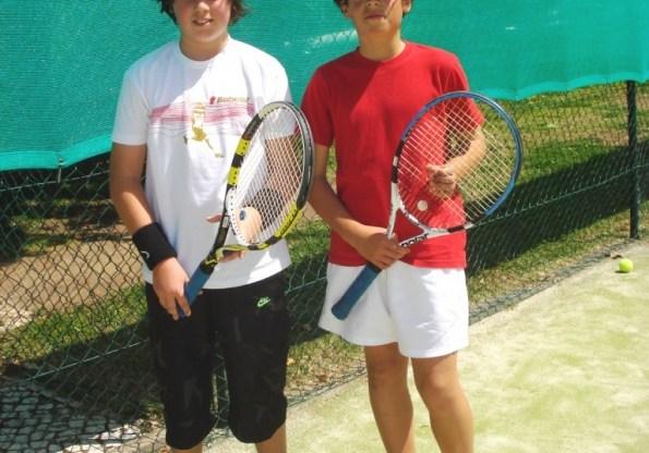 Ivan Bretes, Carlos Xavier e Tiago Raimundo em destaque no Torneio Ténis de Abrantes