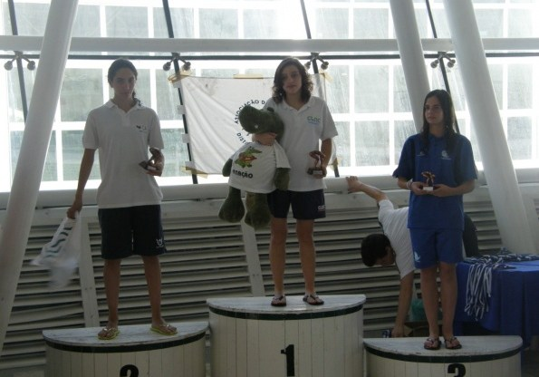 Catarina Gregório bateu o record distrital dos 200m estilos, com 02:37,63