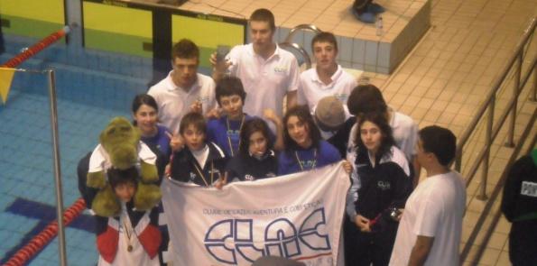 Em Ponte de Sor , 4ª lugar, no torneio de natação da cidade