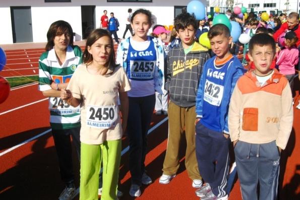 "Benjamins participaram nas II ""ALlimpíadas Jovens"""
