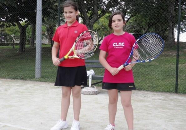 """jovens tenistas no """"Torneio Cidade de Abrantes"""""""